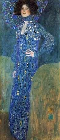 konfigurieren des Kunstdrucks in Wunschgröße Emilie Floge 1902 von Klimt, Gustav