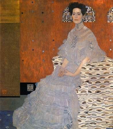 konfigurieren des Kunstdrucks in Wunschgröße Fritza Riedler 1906 von Klimt, Gustav