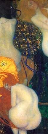 konfigurieren des Kunstdrucks in Wunschgröße Goldfish von Klimt, Gustav