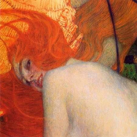 konfigurieren des Kunstdrucks in Wunschgröße Goldfish (detail) 1902 von Klimt, Gustav