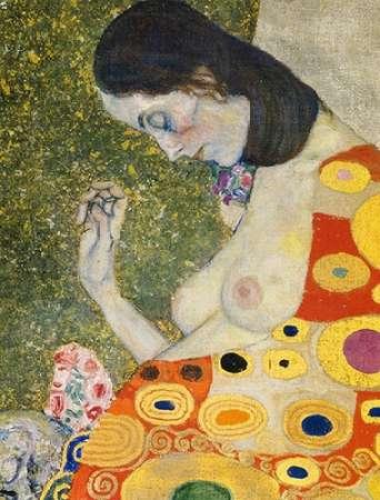 konfigurieren des Kunstdrucks in Wunschgröße Hope II (detail) 1908 von Klimt, Gustav