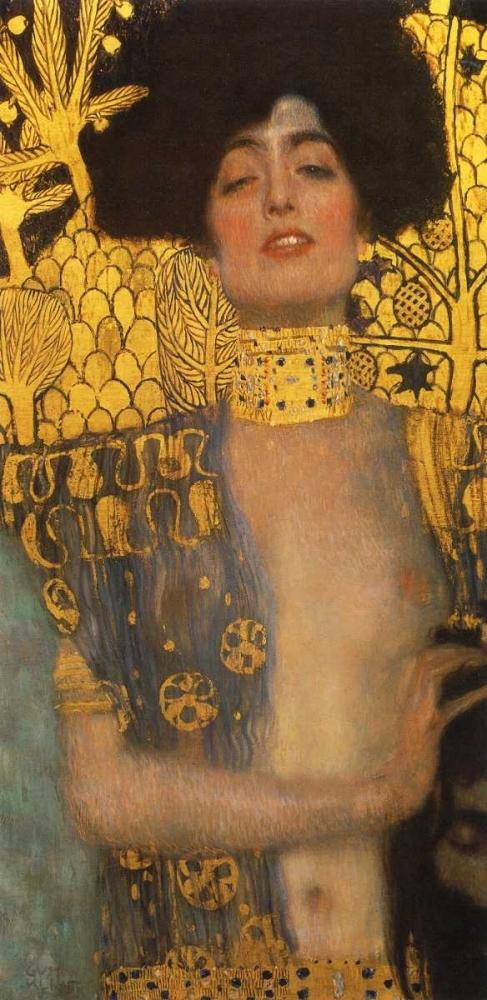 konfigurieren des Kunstdrucks in Wunschgröße Judith von Klimt, Gustav