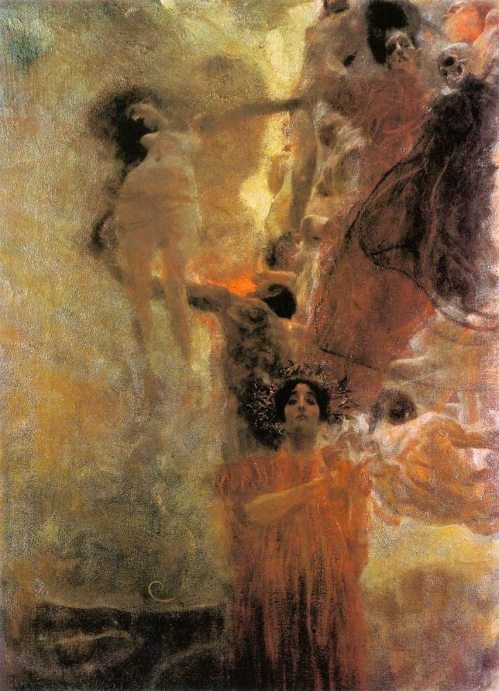 konfigurieren des Kunstdrucks in Wunschgröße Medicine 1898 von Klimt, Gustav