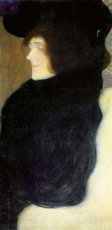 konfigurieren des Kunstdrucks in Wunschgröße Pale Face von Klimt, Gustav