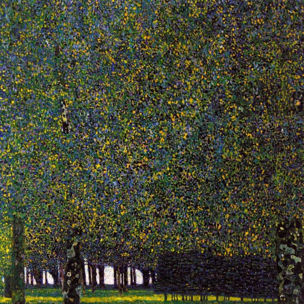 konfigurieren des Kunstdrucks in Wunschgröße Park von Klimt, Gustav