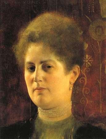 konfigurieren des Kunstdrucks in Wunschgröße Portrait Of A Woman c. 1894 von Klimt, Gustav