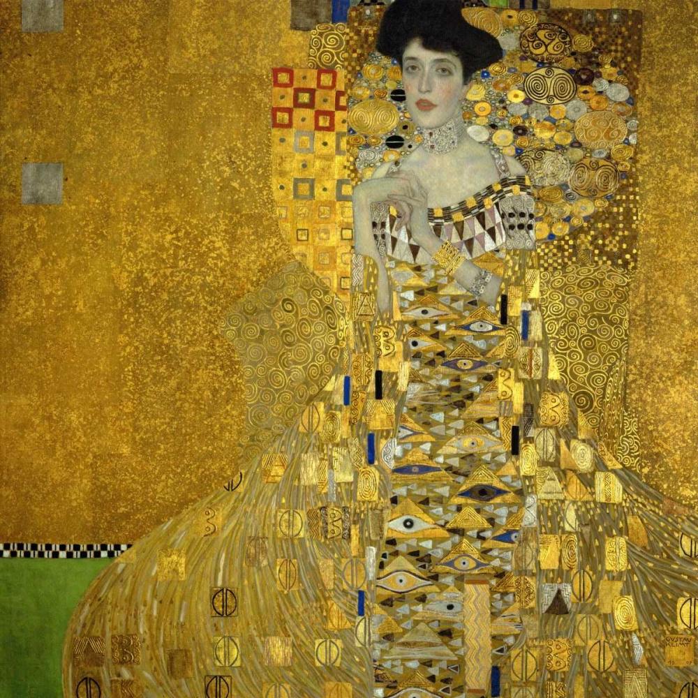 konfigurieren des Kunstdrucks in Wunschgröße Portrait Of Adele Bloch Bauer I 1907 von Klimt, Gustav