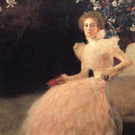 konfigurieren des Kunstdrucks in Wunschgröße Portrait Of Sonja Knips 1898 von Klimt, Gustav
