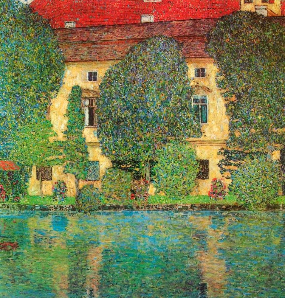 konfigurieren des Kunstdrucks in Wunschgröße Schloss Kammer On Attersee von Klimt, Gustav