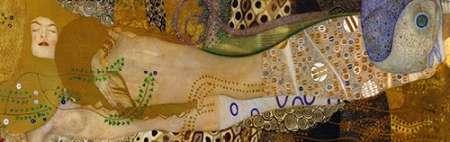 konfigurieren des Kunstdrucks in Wunschgröße Sea Serpents I von Klimt, Gustav