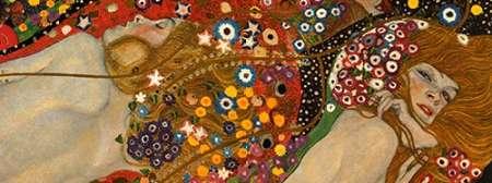 konfigurieren des Kunstdrucks in Wunschgröße Sea Serpents VII von Klimt, Gustav