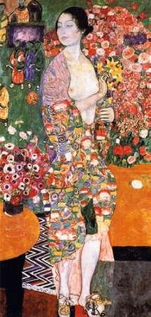 konfigurieren des Kunstdrucks in Wunschgröße The Dancer 1918 von Klimt, Gustav