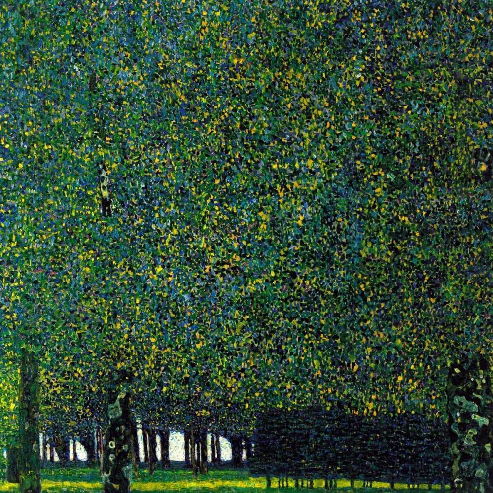 konfigurieren des Kunstdrucks in Wunschgröße The Park 1910 von Klimt, Gustav