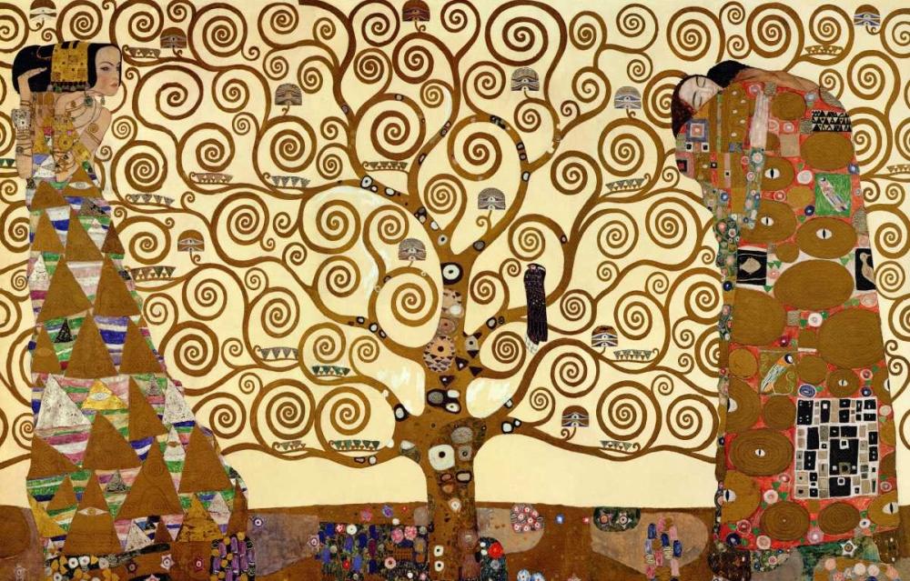 konfigurieren des Kunstdrucks in Wunschgröße The Stoclet Frieze von Klimt, Gustav