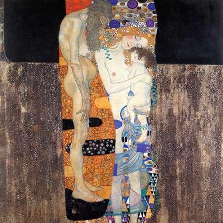 konfigurieren des Kunstdrucks in Wunschgröße Three Ages Of Woman 1905 von Klimt, Gustav