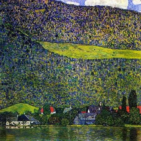 konfigurieren des Kunstdrucks in Wunschgröße Unterach Am Attersee 1915 von Klimt, Gustav