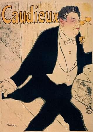 konfigurieren des Kunstdrucks in Wunschgröße Caudieux von Toulouse-Lautrec, Henri