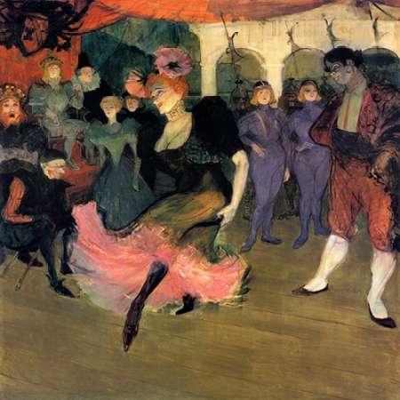 konfigurieren des Kunstdrucks in Wunschgröße Marcelle Lender Doing The Bolero In Chilperic von Toulouse-Lautrec, Henri