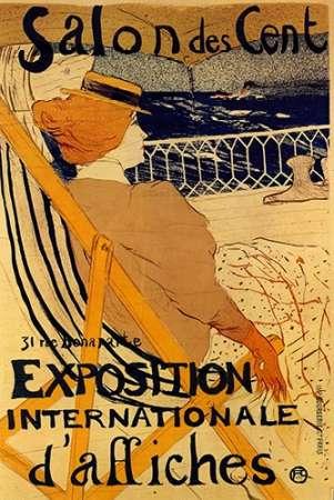 konfigurieren des Kunstdrucks in Wunschgröße Salon Des Cent von Toulouse-Lautrec, Henri