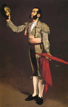 konfigurieren des Kunstdrucks in Wunschgröße A Matador von Manet, Edouard