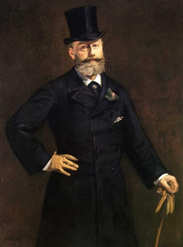 konfigurieren des Kunstdrucks in Wunschgröße Portrait of M. Antonin Proust, 1880 von Manet, Edouard