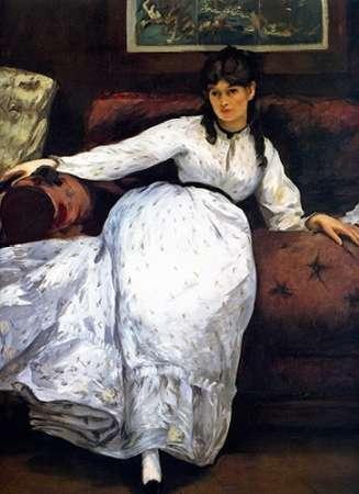 konfigurieren des Kunstdrucks in Wunschgröße Berthe Morisot; le reVintage von Manet, Edouard
