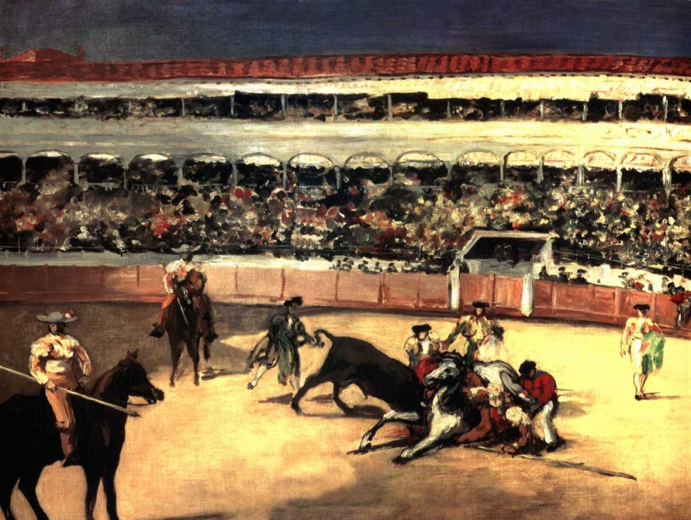 konfigurieren des Kunstdrucks in Wunschgröße Bullfighters von Manet, Edouard