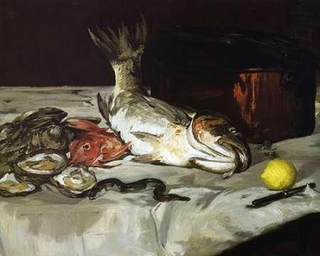 konfigurieren des Kunstdrucks in Wunschgröße Fish von Manet, Edouard