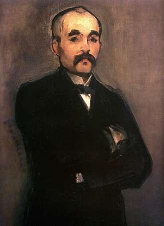 konfigurieren des Kunstdrucks in Wunschgröße Georges Clemenceau von Manet, Edouard