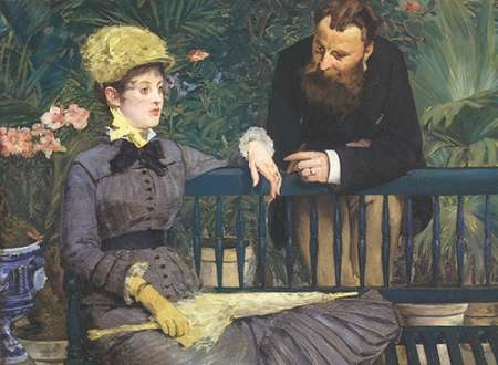 In the Conservatory von Manet, Edouard <br> max. 91 x 66cm <br> Preis: ab 10€