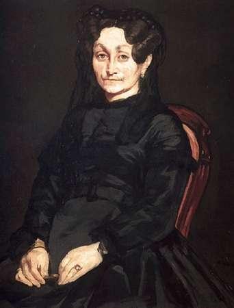 konfigurieren des Kunstdrucks in Wunschgröße Mme Auguste von Manet, Edouard