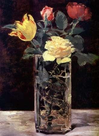 konfigurieren des Kunstdrucks in Wunschgröße Vase of Flowers von Manet, Edouard