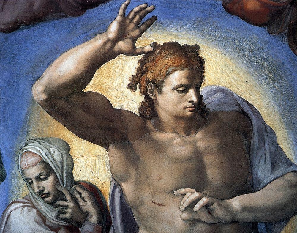 konfigurieren des Kunstdrucks in Wunschgröße Christ-3 von Michelangelo