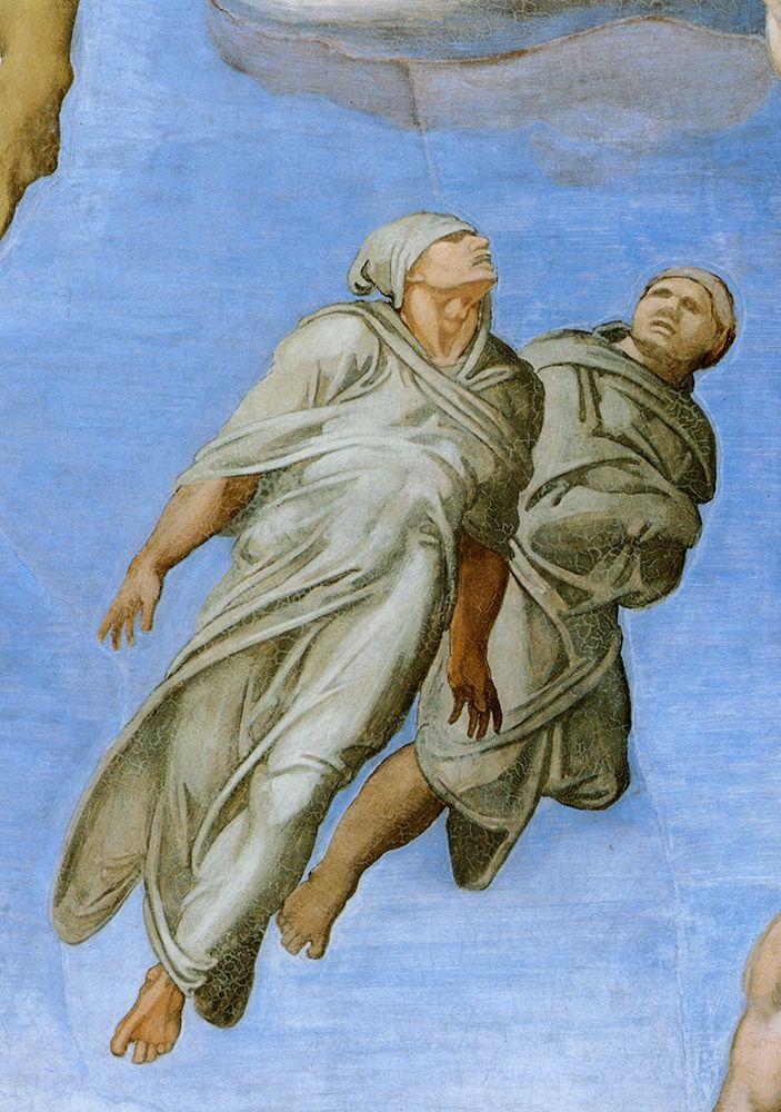 konfigurieren des Kunstdrucks in Wunschgröße Detail From The Last Judgement 10 von Michelangelo