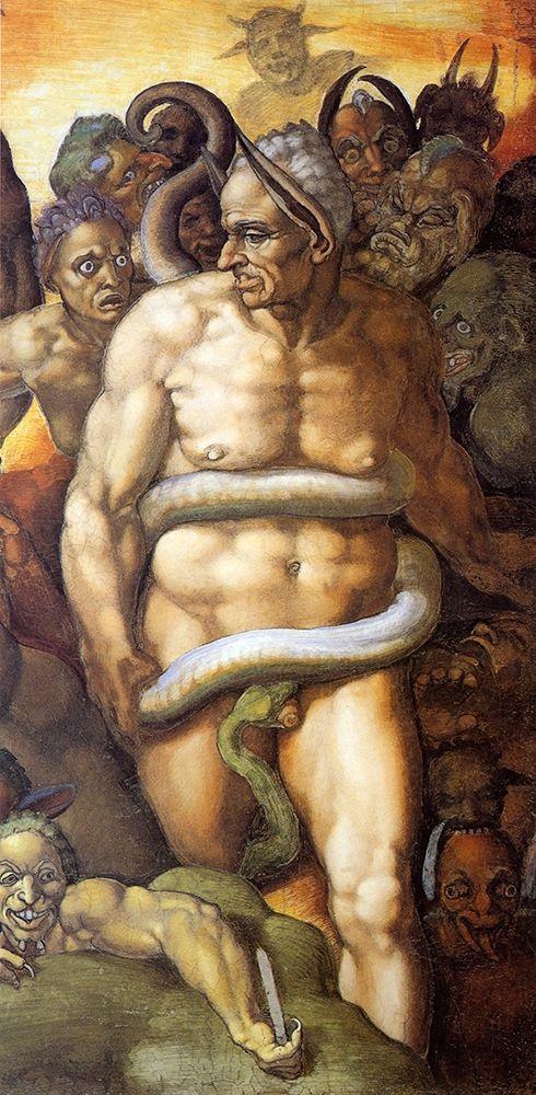 konfigurieren des Kunstdrucks in Wunschgröße Minos-3 von Michelangelo