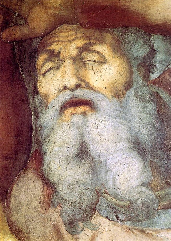 konfigurieren des Kunstdrucks in Wunschgröße The Conversion Of Saint Paul Detail von Michelangelo