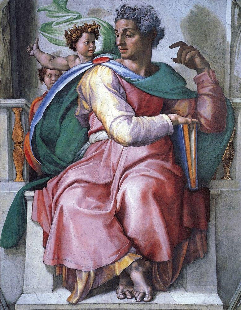 konfigurieren des Kunstdrucks in Wunschgröße The Prophet Isaiah von Michelangelo
