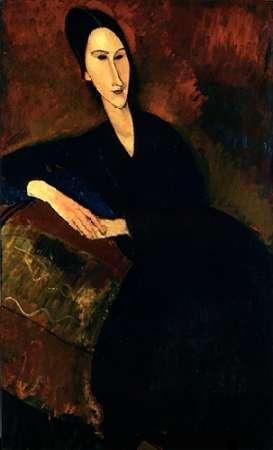 konfigurieren des Kunstdrucks in Wunschgröße Anna Zborowska von Modigliani, Amedeo