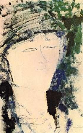 konfigurieren des Kunstdrucks in Wunschgröße Beatrice Hastings von Modigliani, Amedeo