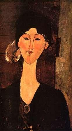 konfigurieren des Kunstdrucks in Wunschgröße Beatrice Hastings 0 von Modigliani, Amedeo