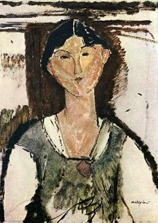 konfigurieren des Kunstdrucks in Wunschgröße Beatrice Hastings 1915 von Modigliani, Amedeo