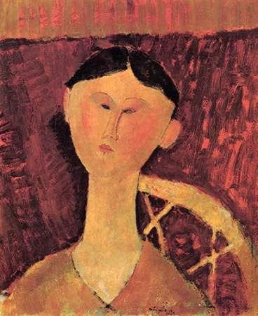 konfigurieren des Kunstdrucks in Wunschgröße Beatrice Hastings X von Modigliani, Amedeo