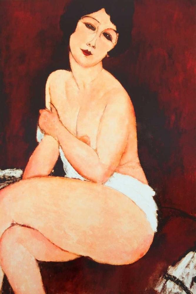 konfigurieren des Kunstdrucks in Wunschgröße Beautiful Woman von Modigliani, Amedeo