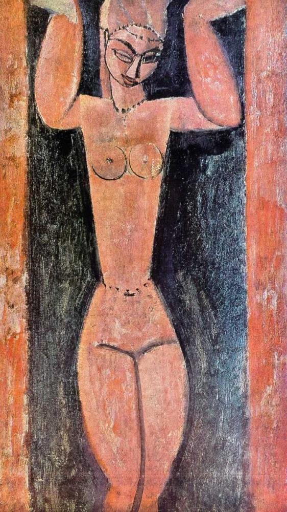 konfigurieren des Kunstdrucks in Wunschgröße Caryatid 0 von Modigliani, Amedeo