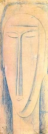konfigurieren des Kunstdrucks in Wunschgröße Caryatid 2 von Modigliani, Amedeo