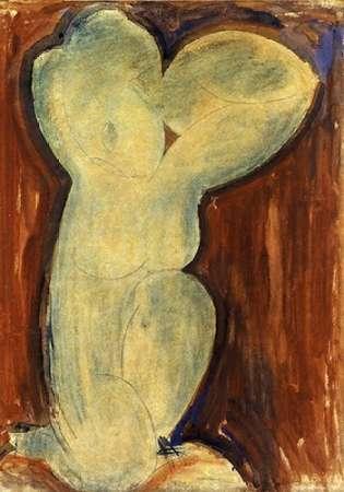 konfigurieren des Kunstdrucks in Wunschgröße Caryatid 2 1 von Modigliani, Amedeo