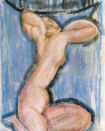 konfigurieren des Kunstdrucks in Wunschgröße Caryatid 4 von Modigliani, Amedeo