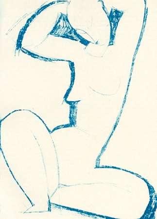 konfigurieren des Kunstdrucks in Wunschgröße Caryatid 5 von Modigliani, Amedeo