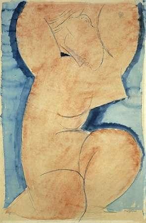 Caryatid 6 1 von Modigliani, Amedeo <br> max. 99 x 152cm <br> Preis: ab 10€