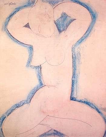konfigurieren des Kunstdrucks in Wunschgröße Caryatid Xx von Modigliani, Amedeo